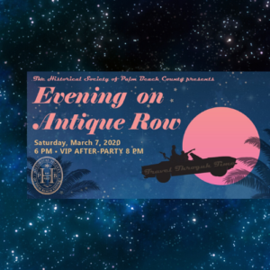 Poster for Evening on Antique Row
