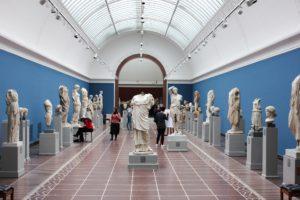 Museum sculptures