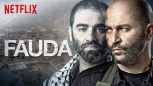 Netflix poster for Fauda.